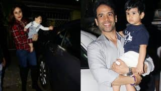 Taimur Ali Khan And Laksshya Kapoor Look Adorably Excited For Their Play Date! View Pics