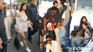 Shah Rukh Khan Birthday: Suhana Khan, Gauri Khan, Sussanne Khan, Ananya Pandey Spotted At The Gateway Back From Alibaug