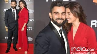 Anushka Sharma And Virat Kohli's Giggling Moments At Indian Sports Honours Will Make You Want To Hear The Wedding Bells Soon!( View Pics)