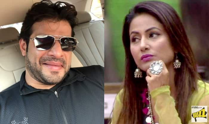Bigg Boss 11 Karan Patel Takes A Jibe At Hina Khan Yet Again Says