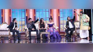 Firangi: Kapil Sharma Shoots A Special Episode Oye Firangi With Kiku Sharda, Bharti Singh, Chandan Prabhakar