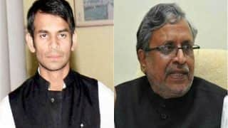 Bihar: Tej Pratap Yadav Threatens to 'Beat' Sushil Modi, Deputy CM Says RJD Leader is Frustrated