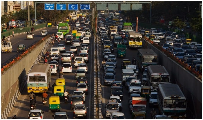 Image result for latest images of bengaluru traffic