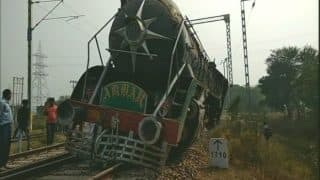 Haryana: Heritage Train Engine 'Akbar' Derails in Rewari After Plying For 2 Kms Without a Driver short