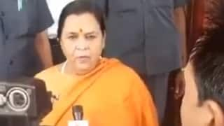 Uma Bharati Not to Contest Elections Due to Age, Health Related Issues