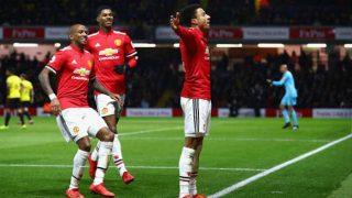 English Premier League 2017-18: Manchester United Beat Watford as Leicester City Stun Tottenham Hotspur