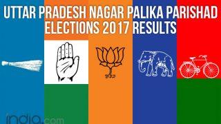 Uttar Pradesh Nagar Palika Parishad Elections 2017 Results: BJP Sweeps UP Municipal Councils