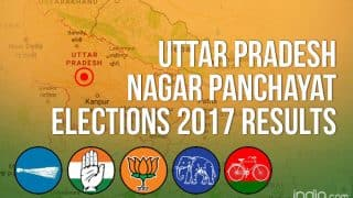 Uttar Pradesh Nagar Panchayat Elections 2017 Results Live News Updates: BJP Wins Amethi Nagar Panchayat