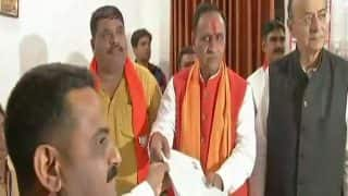 Gujarat Assembly Elections 2017: Vijay Rupani Files Nomination Papers in presence of Arun Jaitley