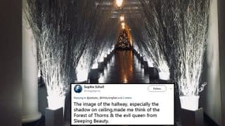 Christmas Decoration Pictures of the White House Haunts Twitterati for its Grim Appearance