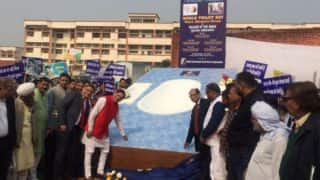 World's Biggest Toilet Pot Unveiled in Haryana's Marora 'Trump Village'