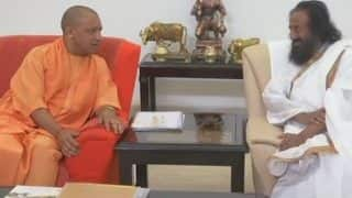राम मंदिर: एक्शन मोड में श्री श्री रविशंकर, सीएम योगी से की मुलाकात