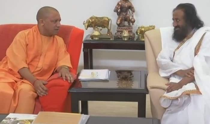 Ram Mandir dispute: Ravi Shankar meets stakeholders in Ayodhya