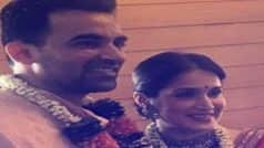 Here's How Cricketers Wished Newly-married Zaheer Khan