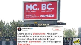 Zomato Apologises And Takes Down Their Latest Ad Campaign After Social Media Backlash