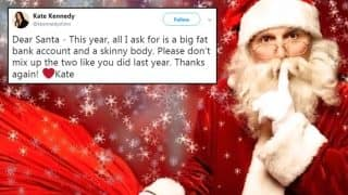 Dear Santa: Here's What Twitterati Asked Santa Claus During Christmas 2017
