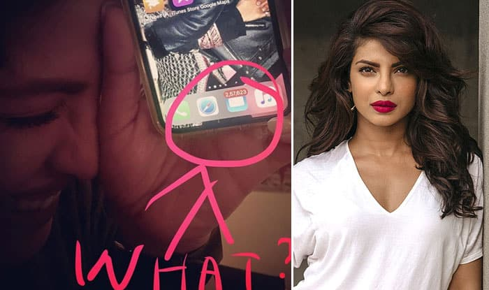 Guess The Number of Unread Emails on Priyanka Chopra's Phone?