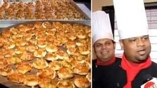 Limca Book of Records: Austin 40 Cafehouse Creates 4000 1 Inch Pizzas (Watch Video)