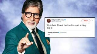 Amitabh Bachchan Tweeted Just One Word 'Nice' And Twitter Erupted With Hilarious Contexts