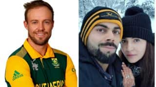 South African Cricketer Ab de Villiers' Sends The Cutest Video Message For Virat Kohli And Anushka Sharma - Watch Video