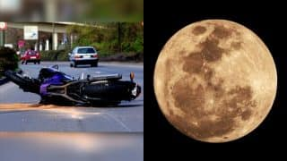Motorcycle Related Deaths in Road Accidents More Common During Full Moon, Research Finds