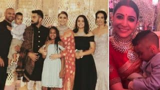Virat Kohli and Anushka Sharma Delhi Reception: Shikhar Dhawan's Son Zoravar's Pictures and Videos Stole the Show