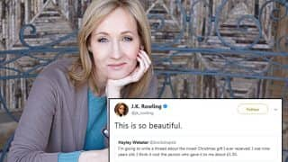 JK Rowling Shared a Heartwarming Christmas Story of a Twitter User That Will Make You Grab Tissues