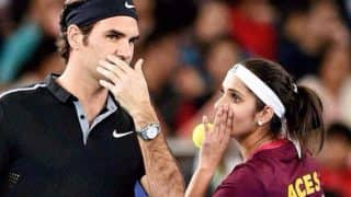 Sania Mirza Shares Photo With Roger Federer Asks Fans For Funny Captions, But the Best Reply Comes From Tabu