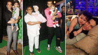 Inside Star Kids Taimur Ali Khan, Inaaya Naumi Kemmu, Lakshyaa Kapoor, Ahil Sharma's Christmas Celebrations
