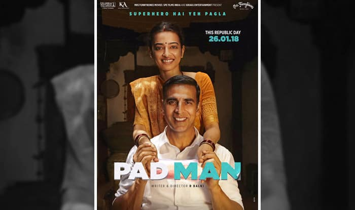 Akshay Kumar Drops A Hint About The Film's Trailer — Padman New Poster