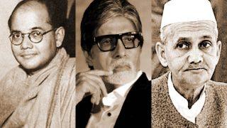 Netaji Subhash Chandra Bose, Lal Bahadur Shashtri, Amitabh Bachchan Likely Descendants of Same  Lineage: Study