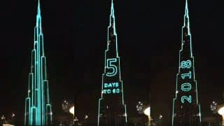 Dubai's Burj Khalifa is Preparing to Break Guinness World Record With a Thunderous Light Show on New Year's Eve (Video)