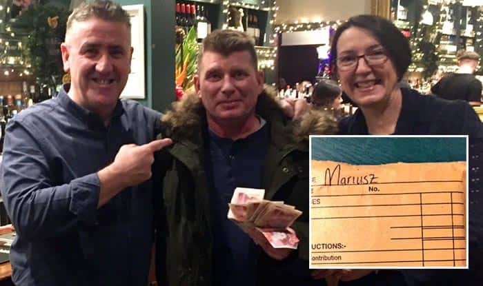 Man reunited with Christmas bonus after social media appeal