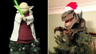 Twitter Users Are Posting Pictures Of Unique Christmas Tree Toppers They Are Using This Xmas