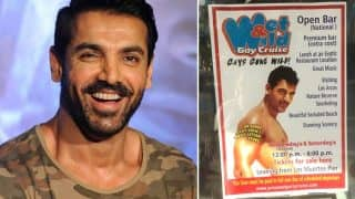 John Abraham's Pic From Movie Dostana Is Being Used To Promote Mexican Gay Cruise; He Probably Doesn't Know