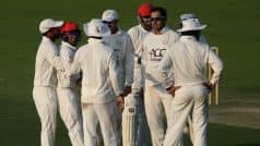 Afghanistan to Play Their First Test Against India