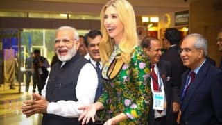 Ivanka Trump and Narendra Modi's Dinner at Falaknuma Palace Live Streamed by Local TV Channels: Watch Video