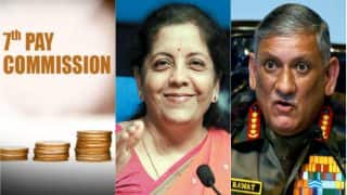 7th Pay Commission: Defence Minister Nirmala Sitharaman Looking Into Education Fund Cap Issue, Says Army Chief