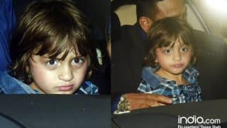 Shah Rukh Khan's Little Munchkin AbRam Khan Is Irritated With Paparazzi Clicks After His School Annual Day