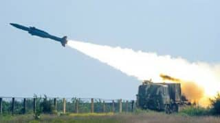 Surface to Air Missile 'Akash' Successfully Launched From ITR Chandipur