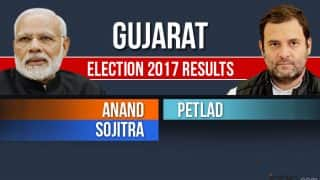 Anand, Petlad, Sojitra Election 2017 Results Live News Updates: Congress Candidates Emerge Victorious in 2 Constituencies
