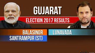 Balasinor, Lunavada, Santrampur (ST) Election 2017 Results: Counting For Vidhan Sabha Seats in Gujarat