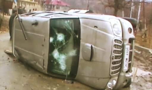 Terrorists attack cash van in J&K, two security guards injured
