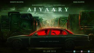 Aiyaary: Manoj Bajpayee - Sidharth Malhotra's Film's First Look To Be Out On Vijay Divas