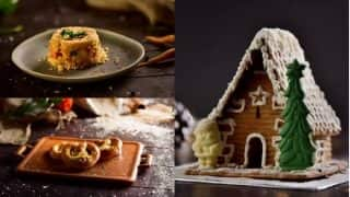 This Christmas, Make Roasted Vegetable Crumble, Pretzels and Ginger Bread House at Home