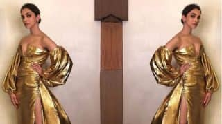 Deepika Padukone's Stylist Receives Major Backlash For Dressing Her Up In A Golden Outfit At A Recent Awards' Function - Read Posts
