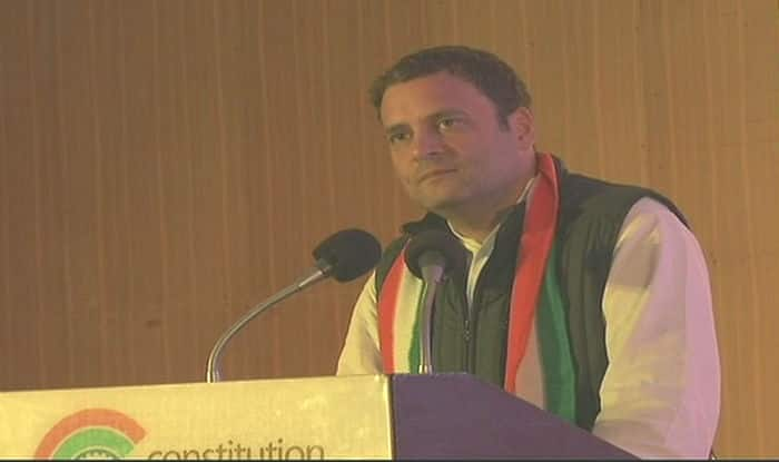 Unfortunately we do not have a woman president anymore, says Rahul Gandhi