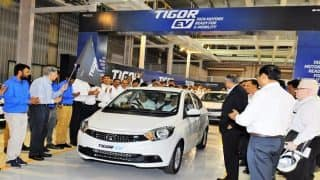 Tigor Electric Cars Rolled Out By Tata Motors From Sanand In Gujarat To Help Government Curb Emissions
