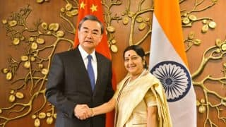 Doklam Aftermath: Peace in Border Areas Essential Pre-requisite For India-China Ties, Sushma Swaraj Told Wang Yi