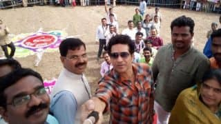 Sachin Tendulkar Visits His Adopted Village Donja in Maharashtra, Says Left a 'Piece of Heart' There